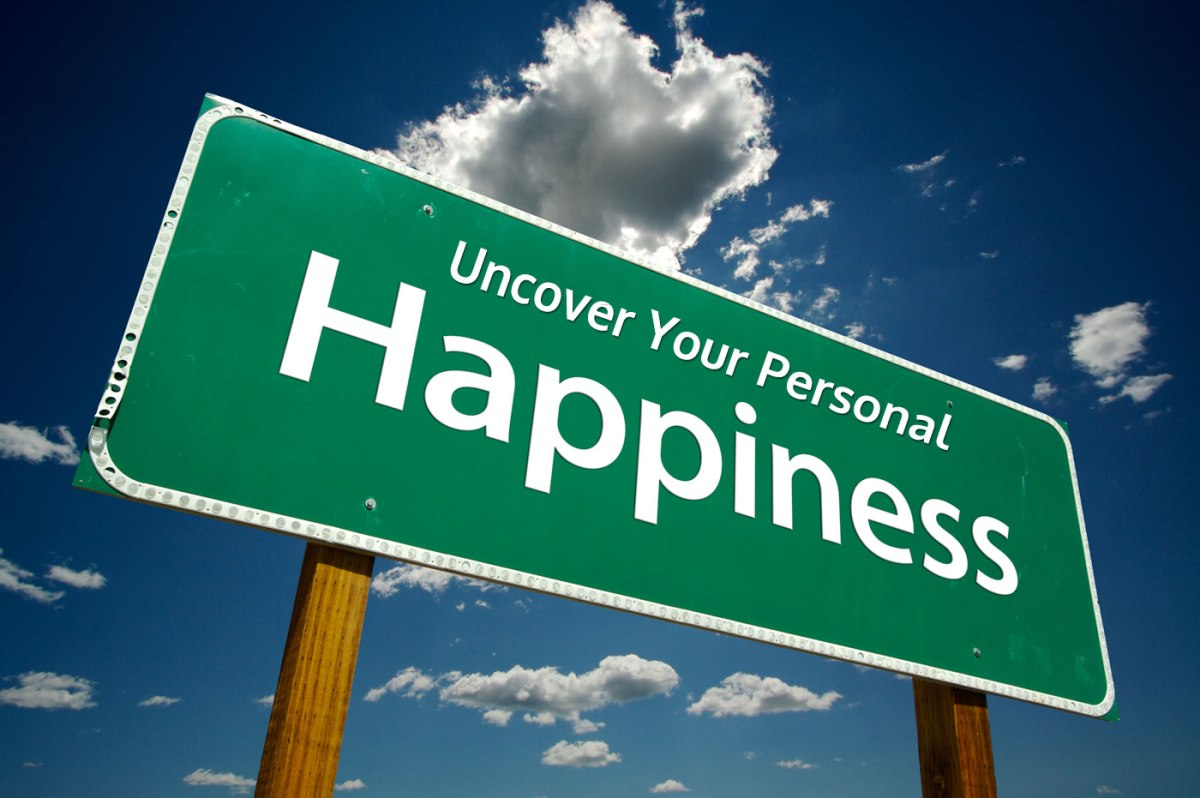 Personal happiness, as we judge it, can't be our ultimate goal